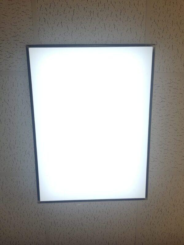 panel led blanc